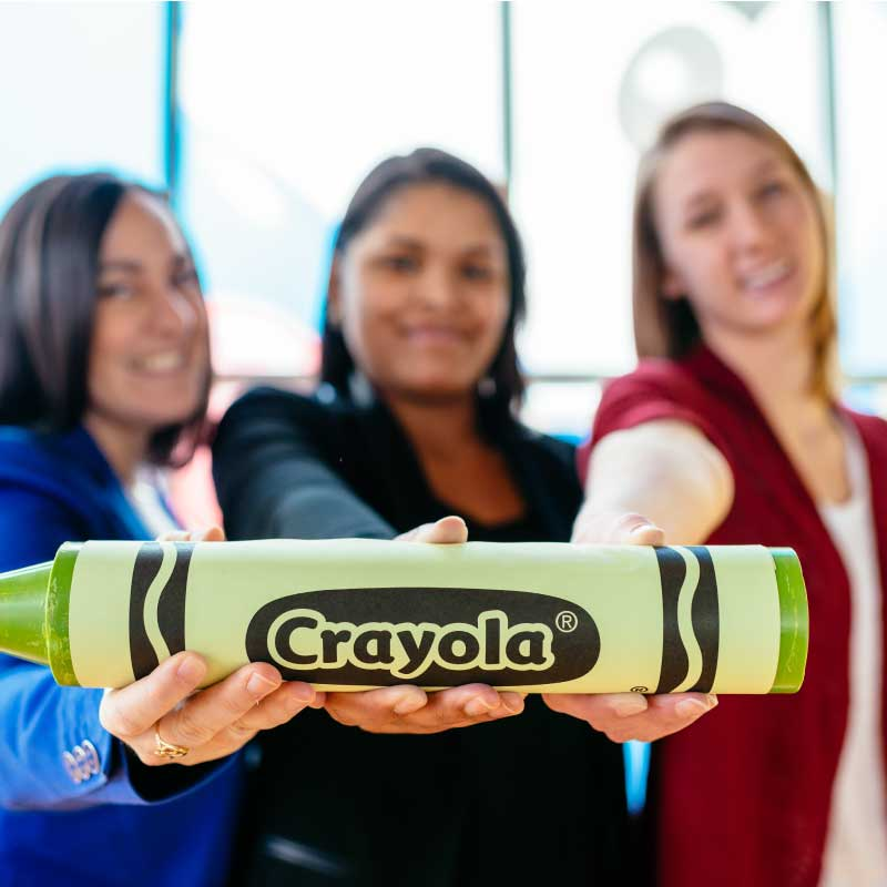 Crayola Experience Employees