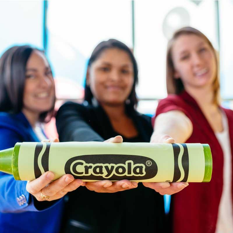 Crayola Experience Employees