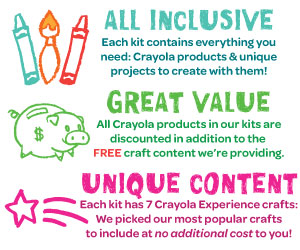Highlights of Creativity Takeout Kits - all inclusive, great value and unique content!